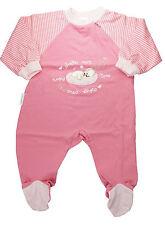 Liegelind Pelele / Pijama Bebé con pie Rosa Perro Niña Talla 62 NUEVA