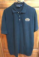 Geek Squad Men XL Polo Shirt Halloween Novelty Funny Gag Gift Black Cotton Blend