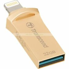 Transcend Lightning USB OTG 32GB JetDrive Go 500 Gold On-The-Go New ct