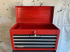 Vintage Craftsman Tool Box Sears Craftsman 6-Drawer Toolbox WITH KEYS