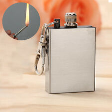 1x Portable Survival Fire Starter Flint Match Metal Lighter Hiking Tools mode