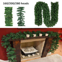 Artificial Pine GREEN  Spruce  Christmas Garland - 2.7 meters / 9ft  XMAS