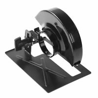 Angle Grinder Support Mill Stand Holder Cutter Steel Base for Industry + Shield