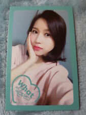 15)TWICE 5th Mini Album What Is Love? Mina Type-3 PhotoCard Official K-POP