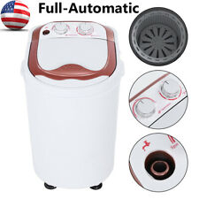 Portable Compact Full-Automatic Washing Machine Laundry Washer Spin Dryer Dorm