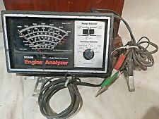 Vintage Sears Craftsman Diagnostic Analyzer Connections + Manual Model 161.21045