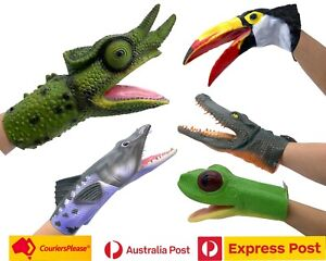 Animal Hand Puppet Latex Material Free Postage