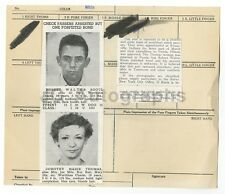 Wanted Notice - Robert Boots & Dorothy Thomas/Check Passers - Peoria, IL