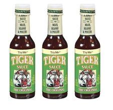 Try Me Tiger Original Hot Sauce 3 Pack