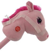 29 Stick Horse Giddy up and Go Pony With Real Sound Pink 678565550201