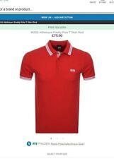 Hugo Boss Paddy Polo Mens Shirt Red 3XL, BNWT RRP £75 - £95