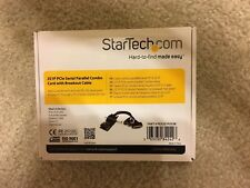 New StarTech 2S1P PCI Express Serial Parallel Combo Card w/ Breakout Cable