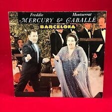 "FREDDIE MERCURY & MONTSERRAT CABALLE Barcelona 1987 German 7"" vinyl Single  E"