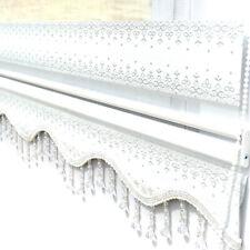 Doppelrollo Weiß Silber Glitzer Duorollos Zebra Perde Klemmfix Rollo Jalo Gardin