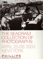 Auction catalog Phillips de Pury Photo Photographs The Seagram Collection 2003