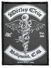 Official Motley Crue - Hollywood Est 1981 - Sew On Patch