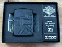 Zippo Harley Davidson COTY 2020 Feuerzeug Armor Black MultiCut - 60005264