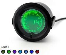 Digital 52mm Turbo Boost gauge 35psi Blue Red Green Purple Impreza WRX STi Turbo
