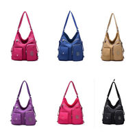 Women Waterproof High Capaciy Backpack Multifunctional Satchel Shoulder Bag