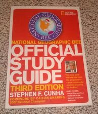 National Geographic Bee Official Study Guide, third Edition - Cunha - Like New!!