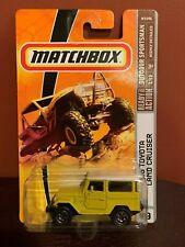 2009 Matchbox '68 TOYOTA LAND CRUISER 1/12 Yellow