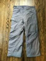 The North Face Men's Hyvent Ski Snowboard Snow Pants Grey Size Large