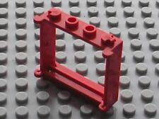 Fenetre rouge LEGO red window ref 3853 / Set 6383 4223 7730 3739 646 6382 6364..