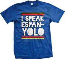 I Speak Espanyolo Spain España Spanish Pride Funny Mens T-shirt