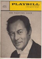 "Rex Harrison  ""The Fighting Cock""  Playbill  Broadway  1960   Roddy McDowall"