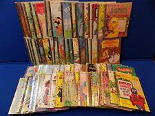 67 Golden Book HUGE Lot Old Vintage Walt Disney Barbie Sesame Street Animals Dog