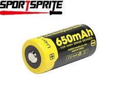 1pc NITECORE NL166 RCR123A 16340 650mAh Li Rechargeable Protected Battery Cell U