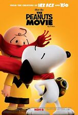 The Peanuts Movie -Charlie Brown Peppermint Patty v10 Movie Poster 2015 24x36