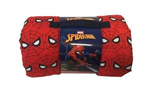 Marvel Spider-Man Kid's Nap Time Blanket 30 x 33 Inches