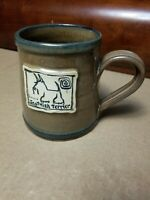 RARE Deneen Pottery Scotty Dog Coffee Mug Scottish Terrier 1998