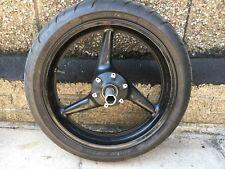 HONDA CBR 929  CBR 954 Fireblade Front  Wheel + Part Worn Tyre 2000 - 2003 (#1)