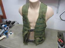 U.S Army / USMC / Woodland Camo Green FLC LBV Molle II Tactical Vest Good Condt