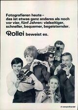 Rolleiflex-SL-1969-Reklame-Werbung-genuine Advert-La publicité-nl-Versandhandel