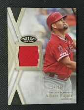 ALBERT PUJOLS 2020 20 TOPPS TIER ONE RELIC JERSEY 224/395 ANGELS