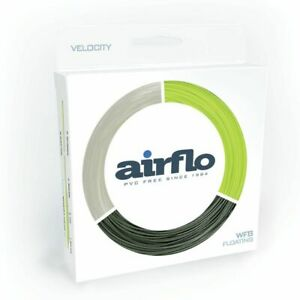 AIRFLO VELOCITY EASY CAST PERFORMANCE WF-4-F #4 WEIGHT FORWARD FLOATING FLY LINE