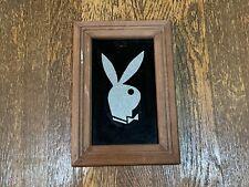"Vintage Playboy Bunny Carnival Mirror 1980's 7"" x 10"""