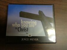 Joyce Meyer Knowing Who You Are in Christ--See yourself as God Sees you 4-CD