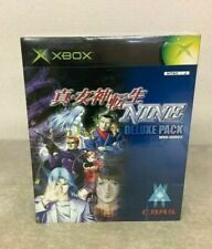 Sale XBOX Shin Megami Tensei NINE Limited DELUXE PACK   Japan Used Rare Jp Used