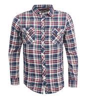 Ben Sherman Checkered Slim Fit Long Sleeve Collared Mens Shirt Top MA00034 M7