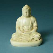 Buddha Statue Peaceful Serene Tibetan Statue Zazen Figurine Made in USA #MSZBL