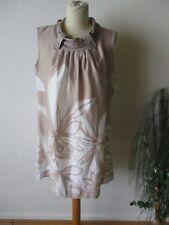 Liberty Damen Tunika Gr.L beige ärmellos Kurzkleid