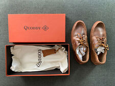 BRAND NEW Quoddy Boat Moc II size US 7 Horween Chromexcel Natural Leather Vibram
