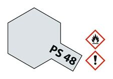 Tamiya Lexan Sprühfarbe PS-48 Alu-Silber (Chrom) Polycarbonat 100ml - 86048