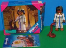 VTG. Retired Playmobil 4546 Egyptian Queen CLEOPATRA Snake COBRA Special w/Box