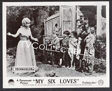 Photo~ MY SIX LOVES ~1963 ~Debbie Reynolds ~Barry Livingston ~Teddy Eccles ~CS
