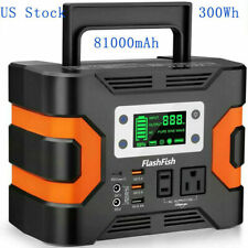 330W 81000mAh Power Station Solar Generator CPAP Backup Battery Power Supply
